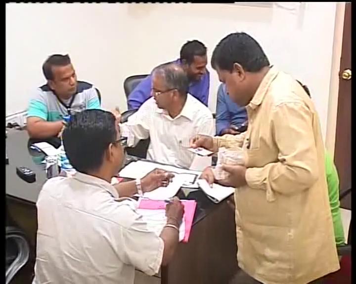 CBI raid on seashore in Puri