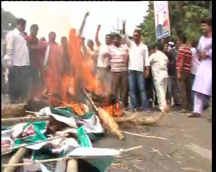 national herald congress agitation