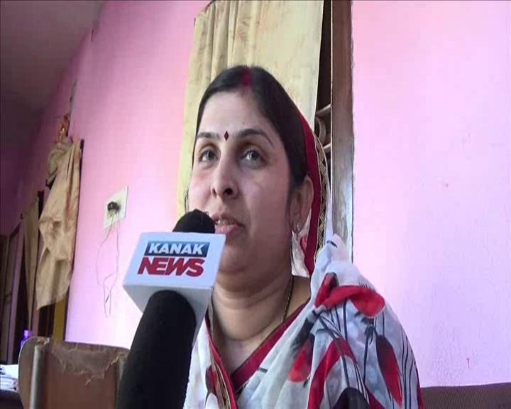 Keonjhar councillor Sushree Nanda