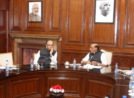 Rajnath jaitley central assistance meeting