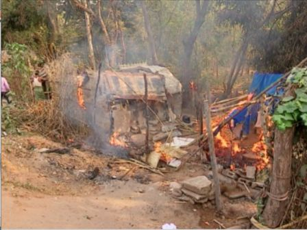vanivihar slum fire