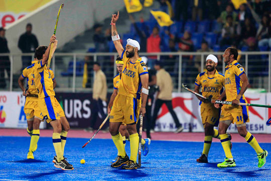 Jaypee Punjab Warriors win HIL-4