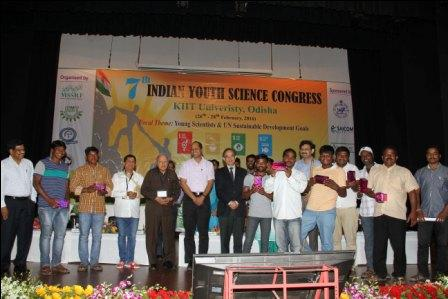 7th Indian Youth Science Congress Inaugurated in KIIT