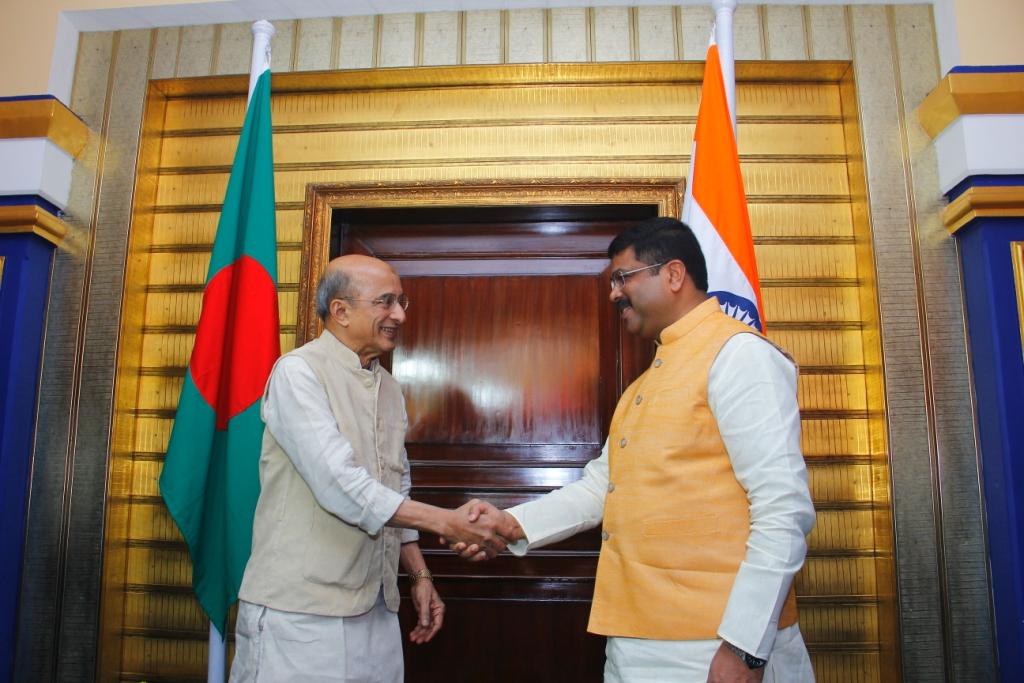 Bangladesh talks dharmendra pradhan