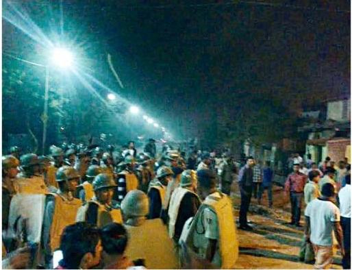mob clash jadupur
