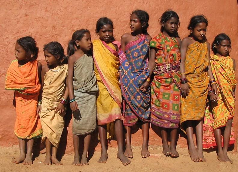 tribal girls odisha