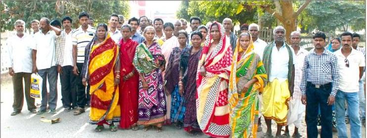 villagers demo jhashaketan