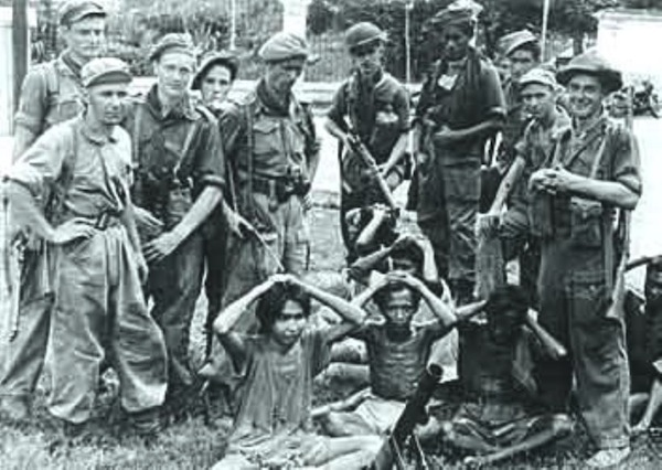 Pic: This was during the Rawagede massacres when Dutch army mercilessly killed people of one of Indonesia's village