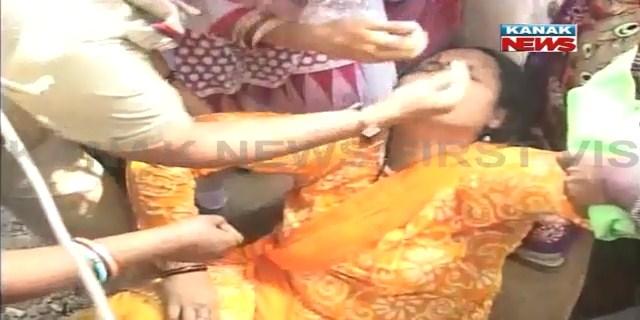 BJP police faceoff Sambalpur