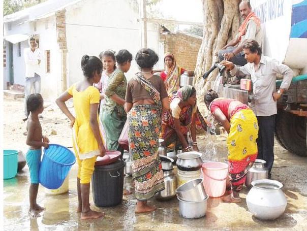 Berhampur water crisis