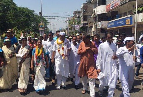 PCC Odisha Rourkela jan jagran yatra