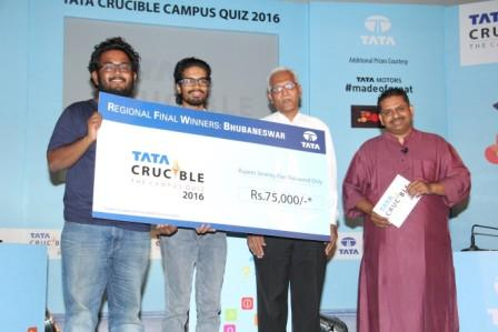 Tata Crucible Quiz 2016