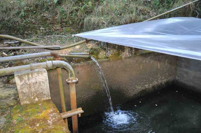 drain water tank