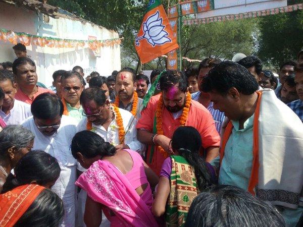 BJP jan Kalyan yatra