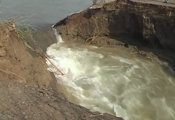 Indravati Canal breach
