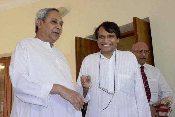 Suresh Prabhu naveen Patnaik