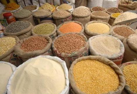 grocery shop cereals pulses dal VAT