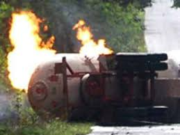 lpg tanker fire