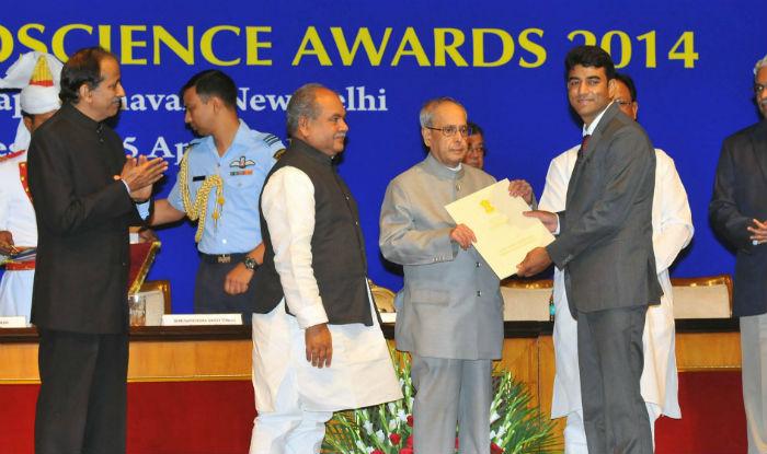 national geoscience award