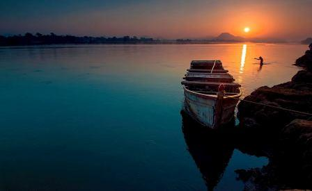 Bansadhara River.Odisha Sun Times