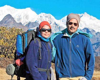 1st Odia couple atop Everest