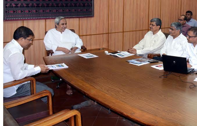 Arun Sahoo Naveen patnaik review meeting