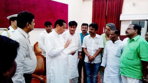 BJD leaders meet governor