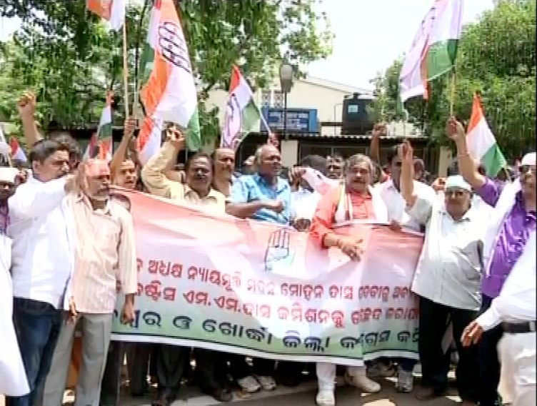 Congress protest picture