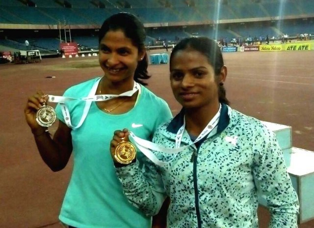 Dutee chand-and-Srabani-nanda