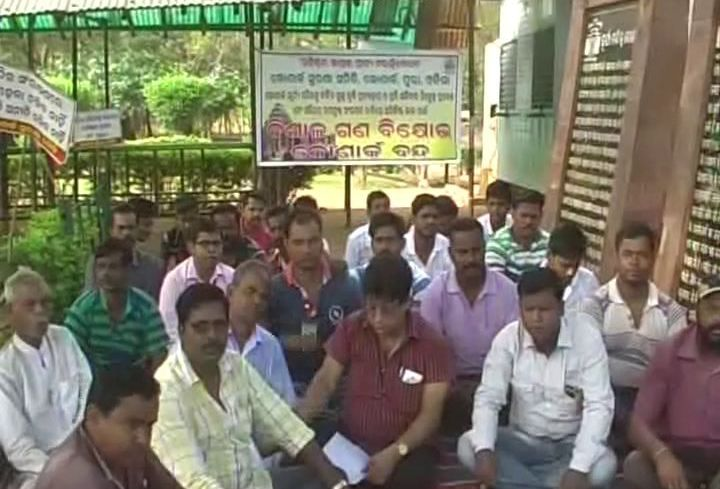Konark temple protests