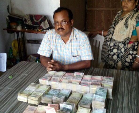 Nagendra Kumar Sahu vigilance raid