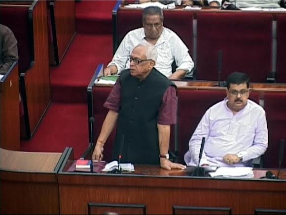 Narasingha Mishra in Odisha Assembly