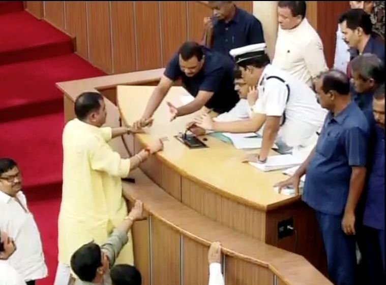 Odisha Assembly ruckus 1 (2)