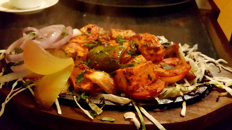 Dish: Paneer Shaslik Picture Courtesy: Foodies of Bhubaneswar-Cuttack