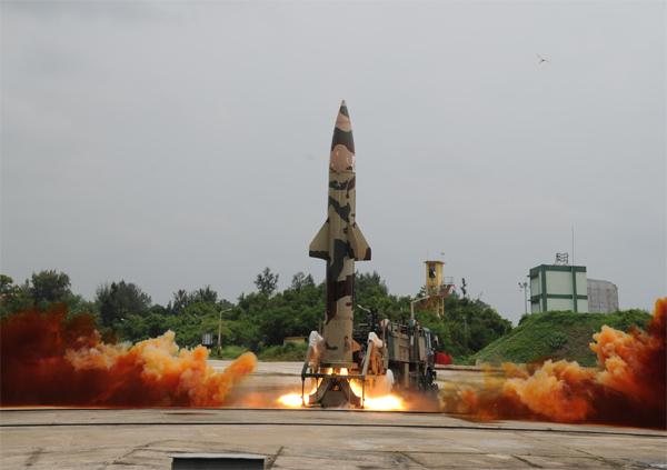 Prithvi II missile