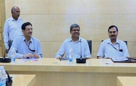 aditya padhi with central team jagamohan repair