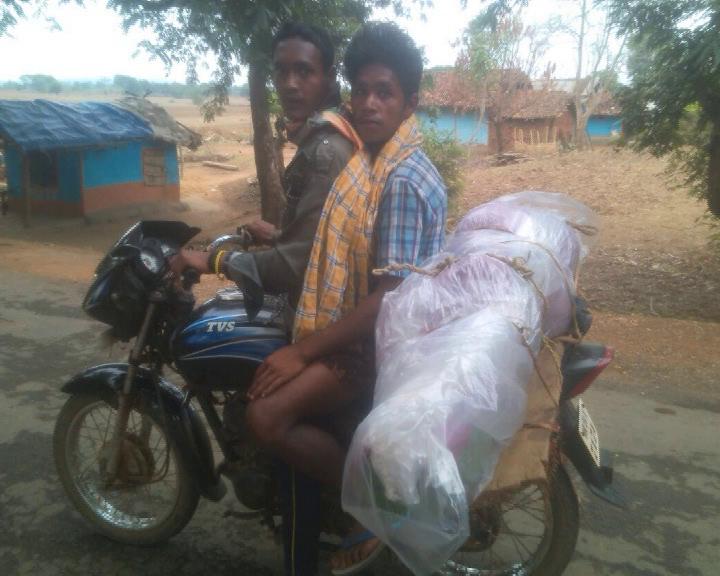 corpse on bike