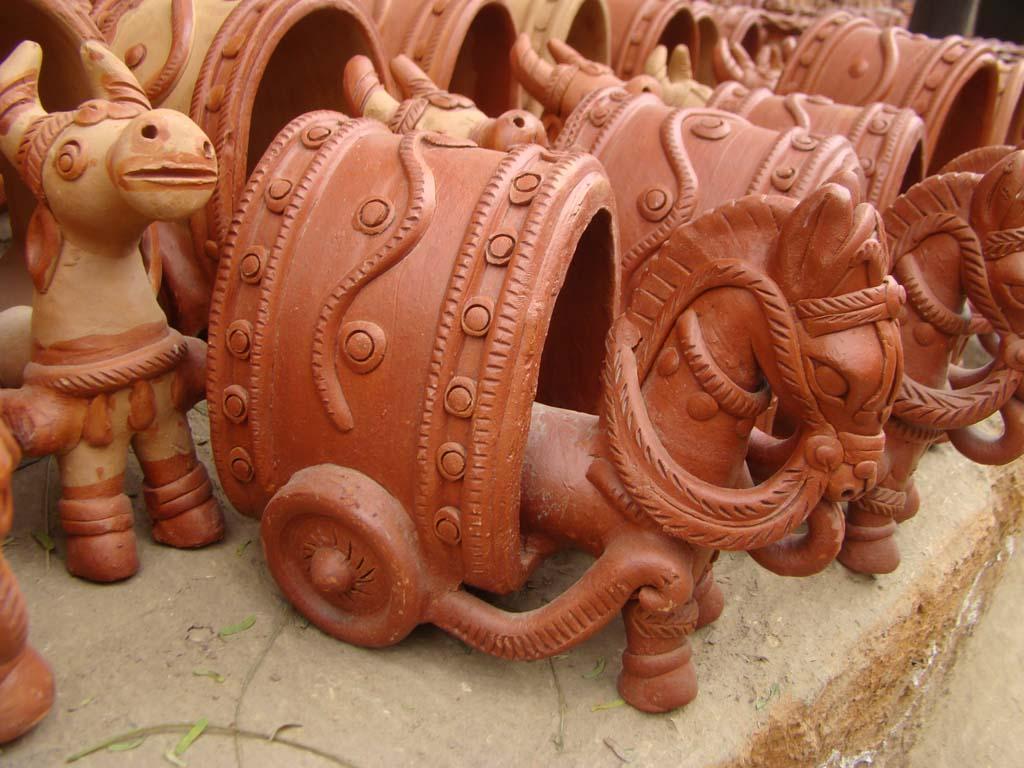terracotta-horse-cart