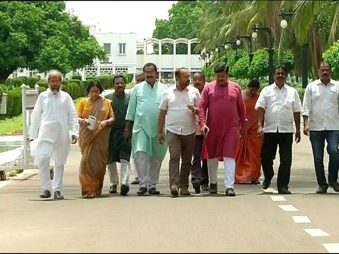 BJP leaders meet governor