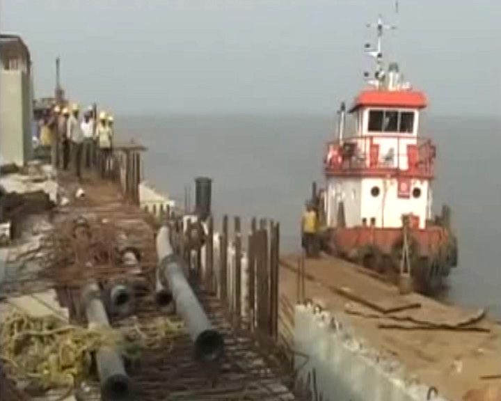 Dhamra port