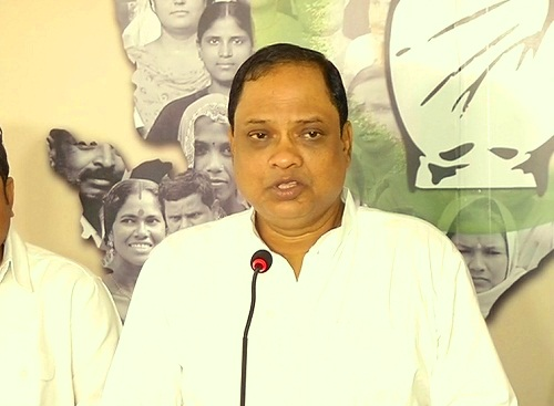 Prasad press meet-congress