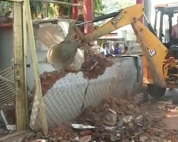 Temple demolition jeypore
