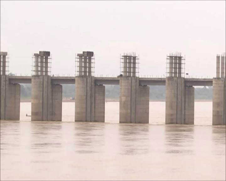 Chhattisgarh barrage over Mahanadi