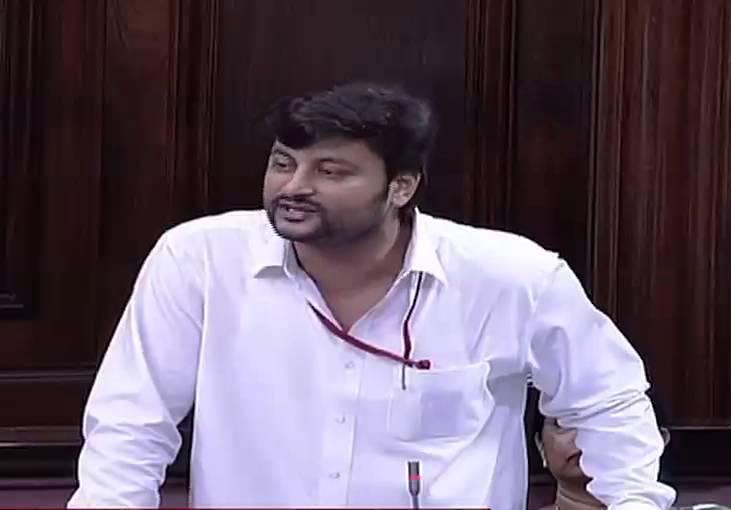 Anubhav Mohanty in Rajya Sabha