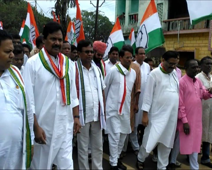 Congress Adhikar yatra baliguda