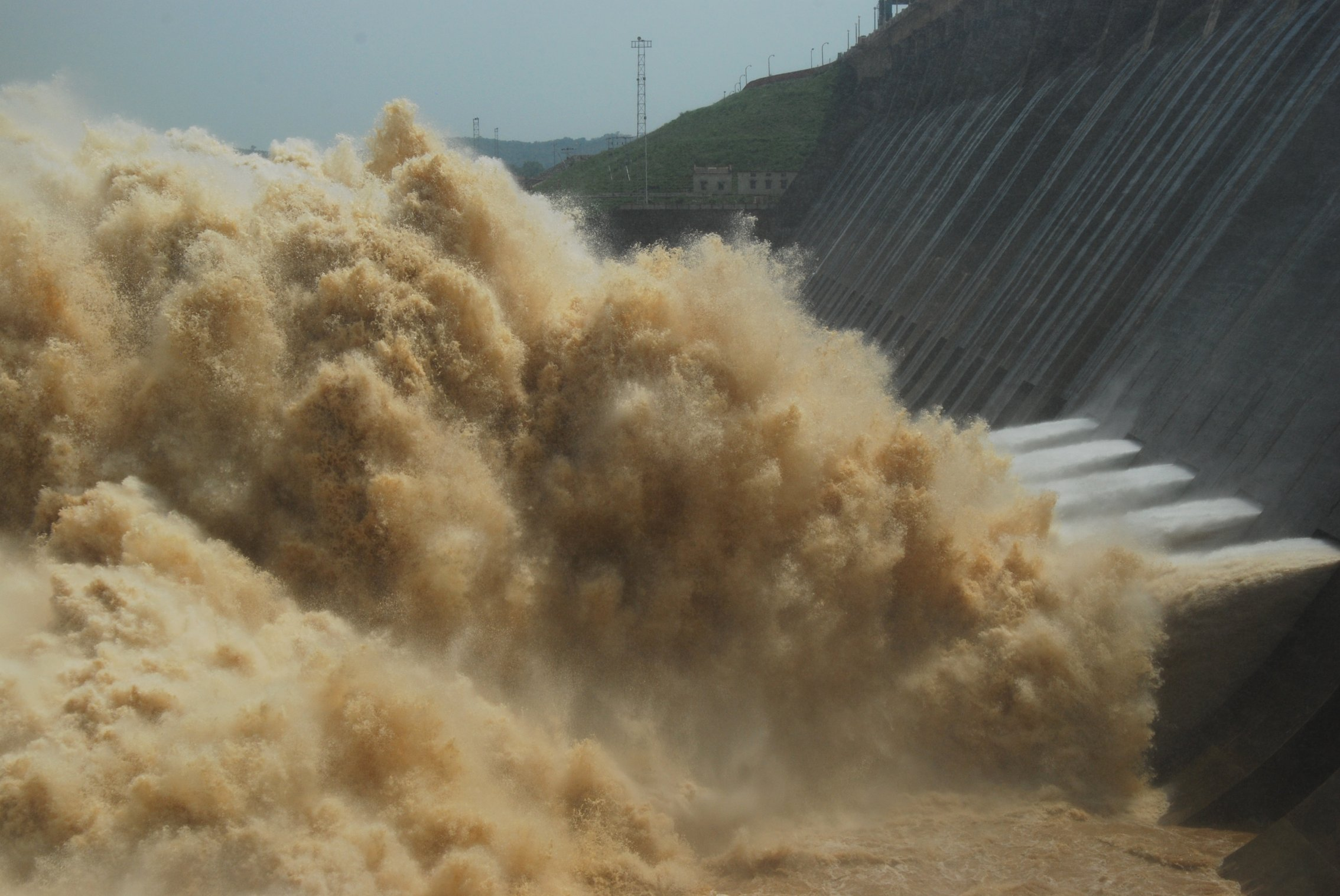 Hirakud flood release
