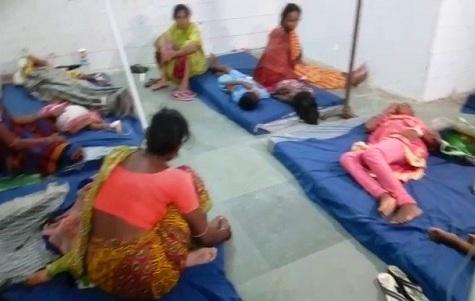 Lipinda panchayat food poisoning