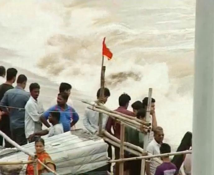 Sea ingress at Swargadwara