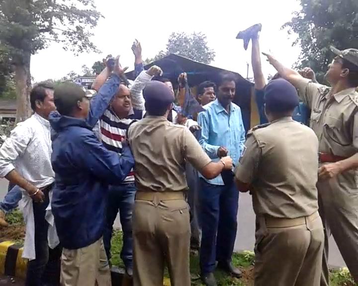 black flag showen to bikram arukha