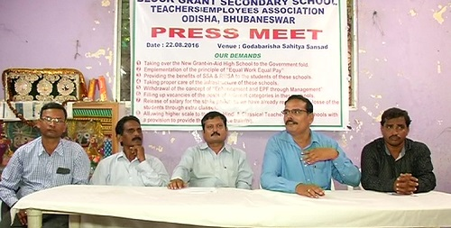 block-grant teachers press meet